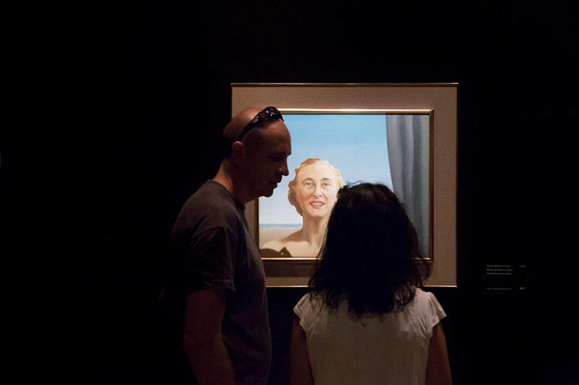 Fabian Fröhlich, Brüssel, Royal Museums of Fine Arts of Belgium, René Magritte, Portrait Anne-Marie Crowet