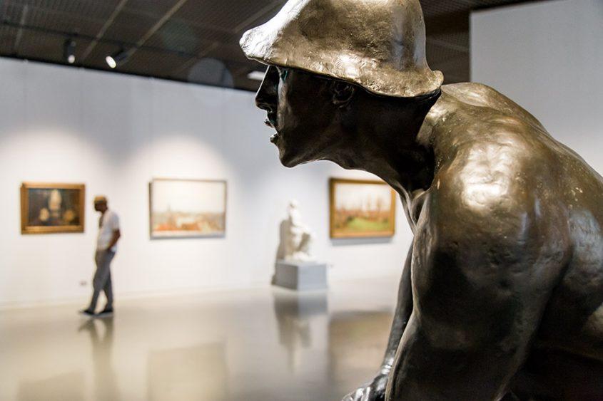 Fabian Fröhlich, Brüssel, Royal Museums of Fine Arts of Belgium, Constantin Meunier, The Puddler