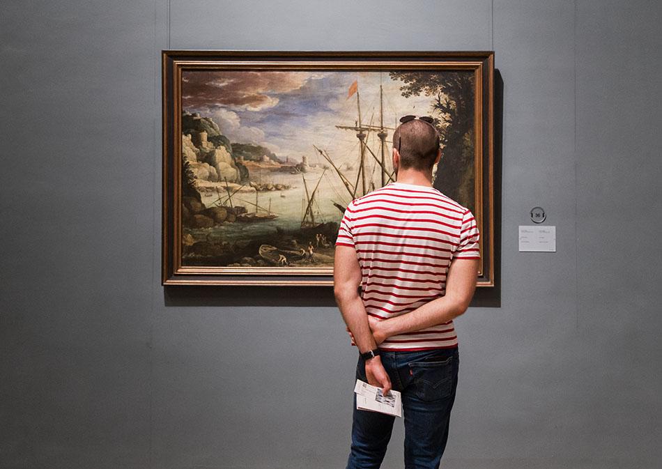 Fabian Fröhlich, Brüssel, Royal Museums of Fine Arts of Belgium, Paul Bril, Der Hafen