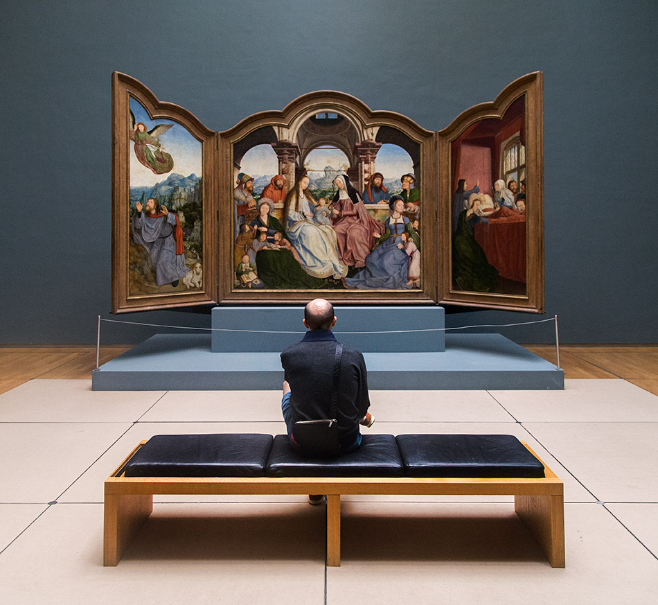 Fabian Fröhlich, Brüssel, Royal Museums of Fine Arts of Belgium, Quentin Massys, St Anna Altar