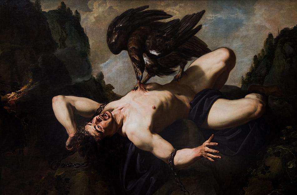 Fabian Fröhlich, Brüssel, Royal Museums of Fine Arts of Belgium, Theodoor Rombouts, Prometheus