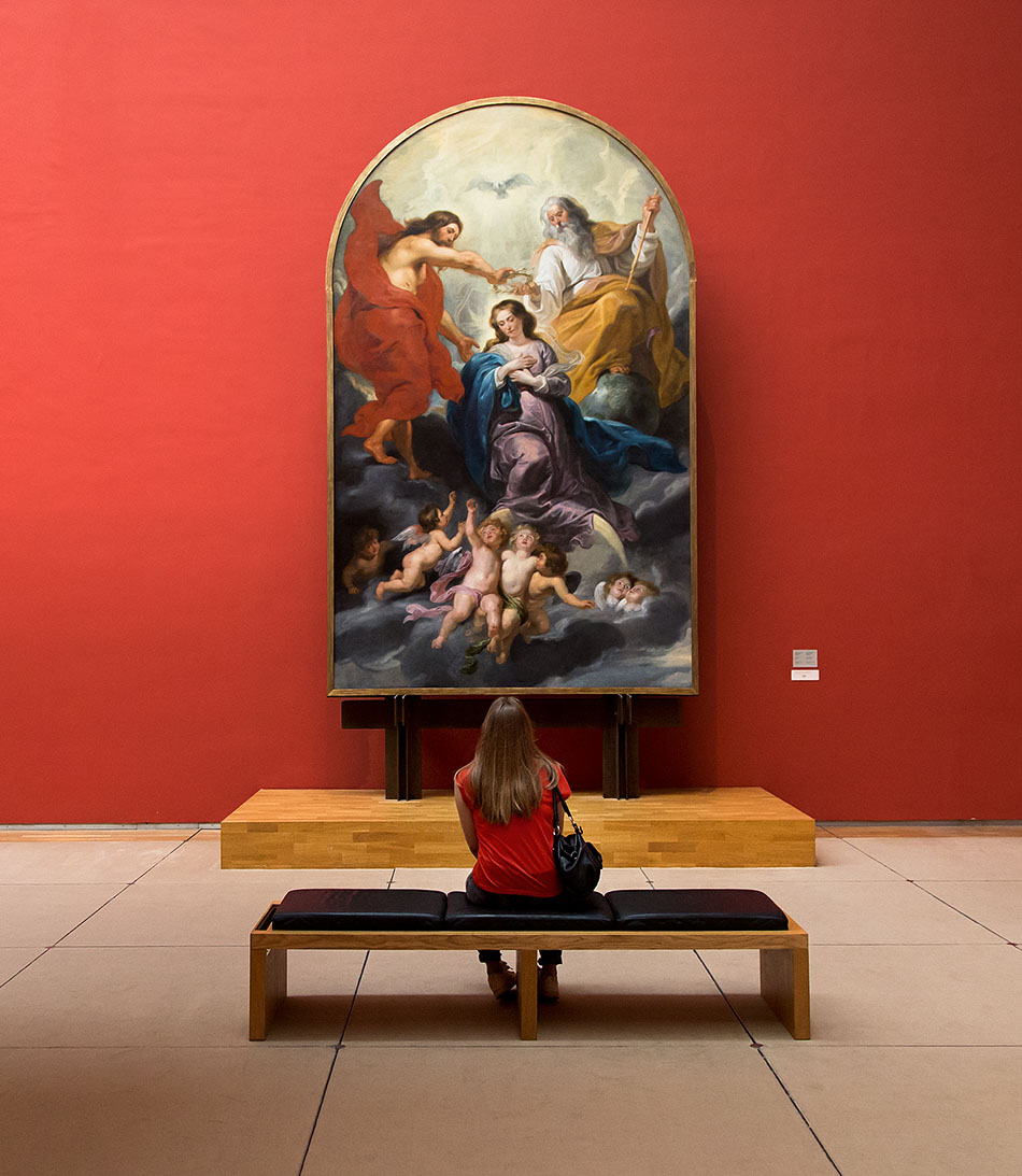 Fabian Fröhlich, Brüssel, Royal Museums of Fine Arts of Belgium, Rubens, Die Krönung Mariens