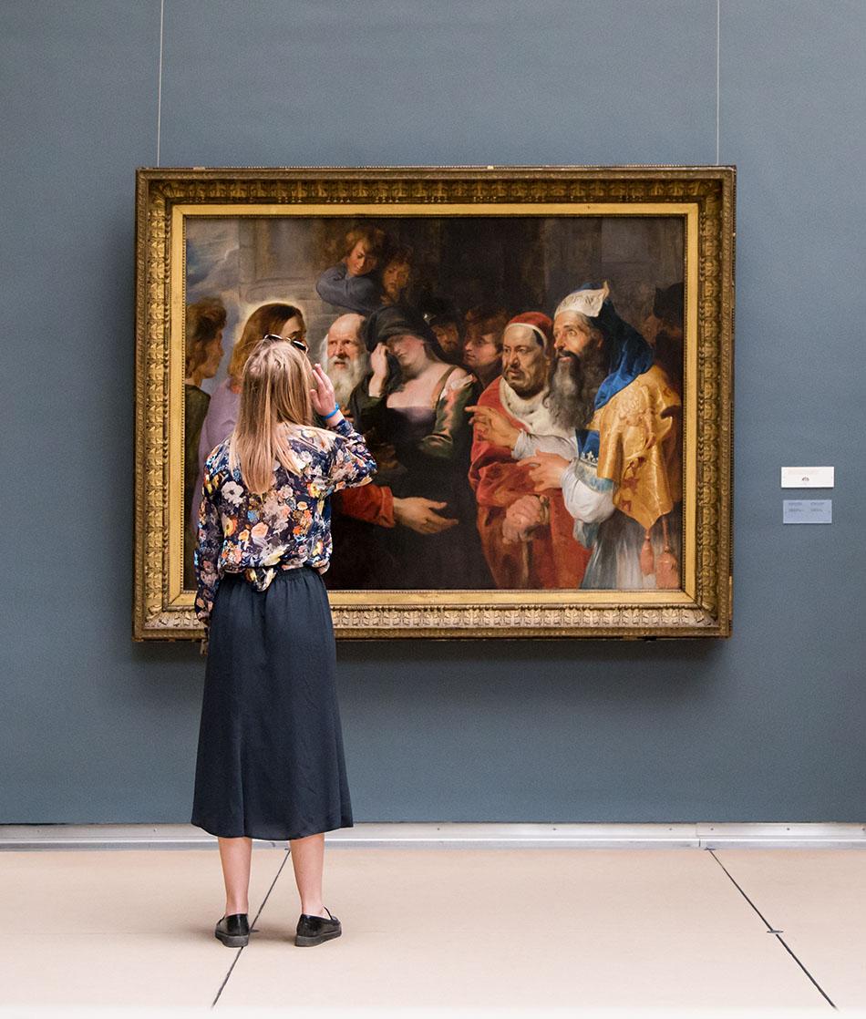 Fabian Fröhlich, Brüssel, Royal Museums of Fine Arts of Belgium, Rubens, Christus und die Ehebrecherin