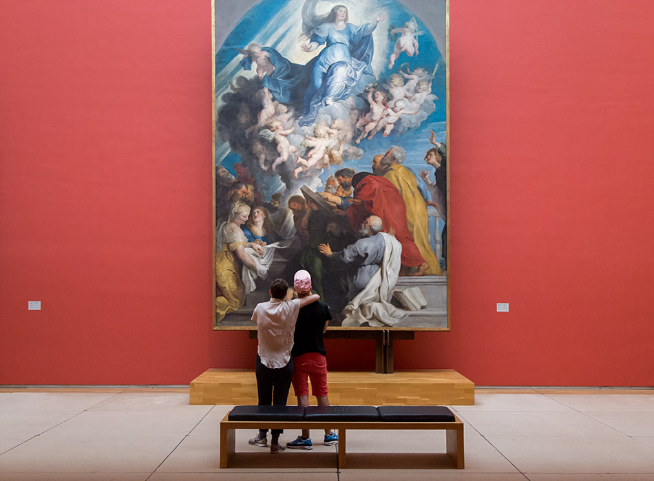 Fabian Fröhlich, Brüssel, Royal Museums of Fine Arts of Belgium, Rubens,, Mariä Himmelfahrt