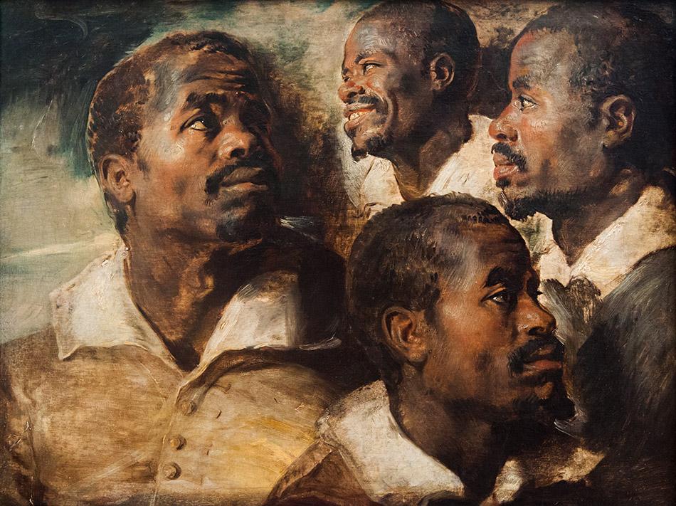 Fabian Fröhlich, Brüssel, Royal Museums of Fine Arts of Belgium, Rubens, Studeine eines Schwarzen