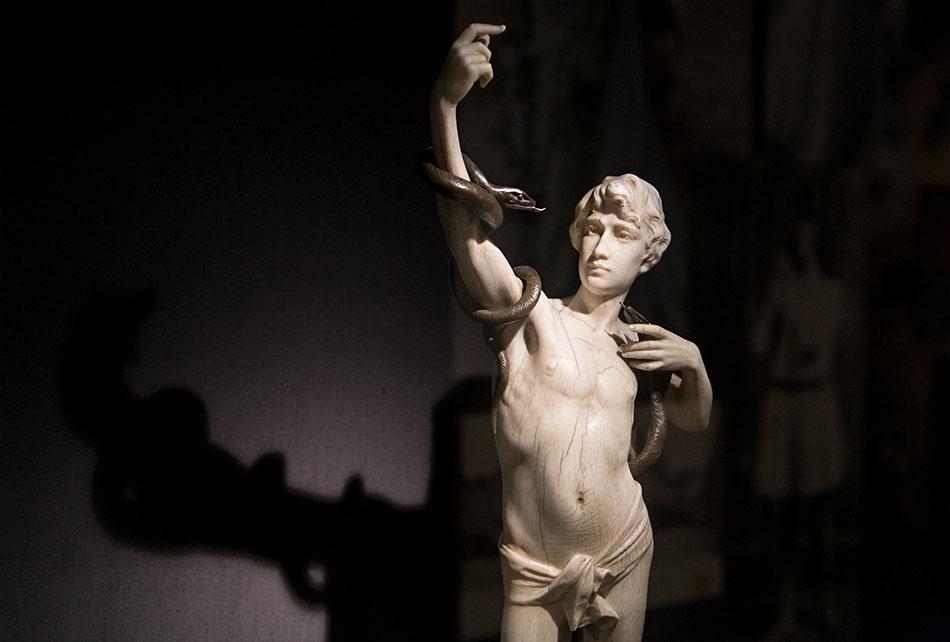 Fabian Fröhlich, Brüssel, Royal Museums of Fine Arts of Belgium, Alfons Van Beuren, Der Schlangenbeschwörer