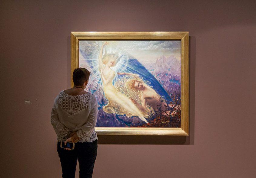 Fabian Fröhlich, Brüssel, Royal Museums of Fine Arts of Belgium, Jean Delville, The Angel of Splendour.