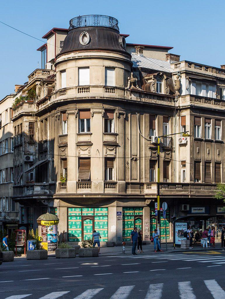 Fabian Fröhlich, Beograd, Bulevar despota Stefana