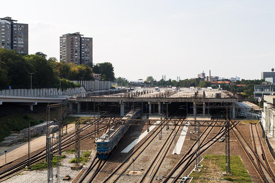 Fabian Fröhlich, Beograd, Beograd Centar station