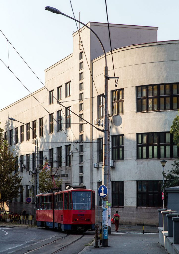 Fabian Fröhlich, Beograd, First Gymnasium of Belgrade