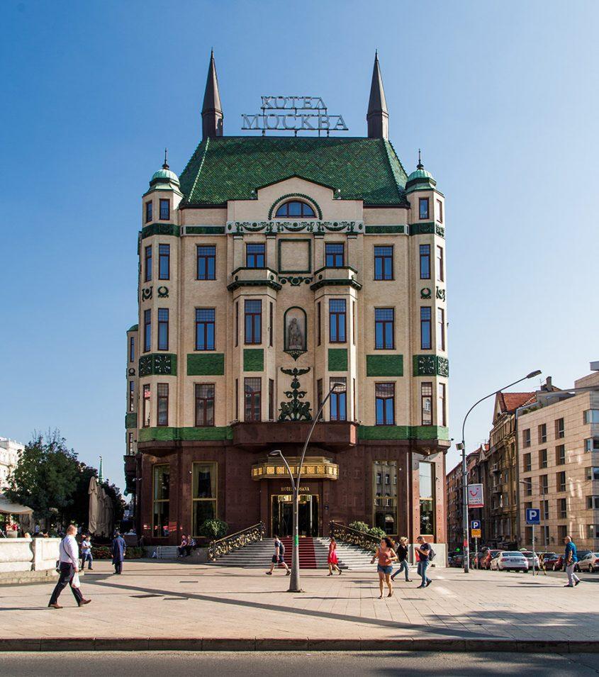 Fabian Fröhlich, Beograd, Hotel Moskva