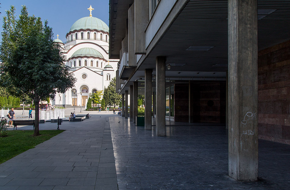 Fabian Fröhlich, Beograd, Dom des Heiligen Sava