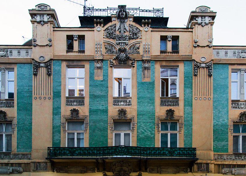 Fabian Fröhlich, Beograd, Kralja Petra, Jugendstil