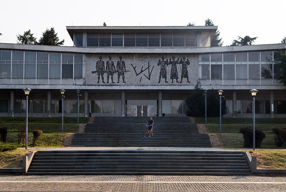 Fabian Fröhlich, Beograd, Museum der Geschichte Jugoslawiens, Mueum des 25. Mai