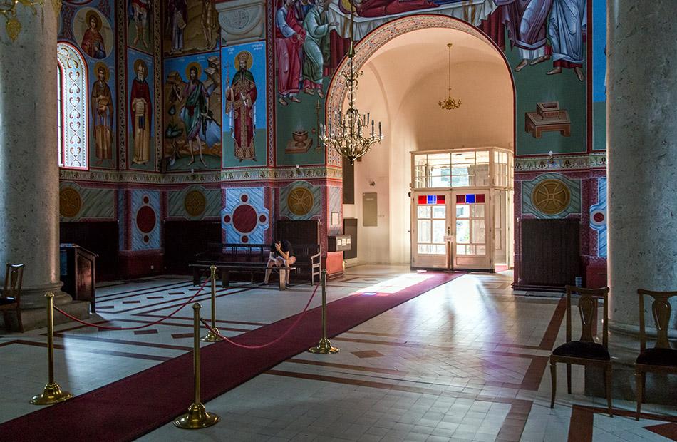 Fabian Fröhlich, Beograd, Alexander-Newski-Kirche