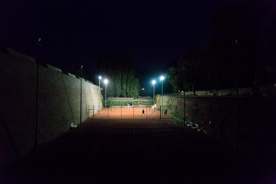 Fabian Fröhlich, Beograd, Kalemegdan, Tennis
