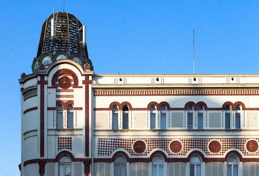 Fabian Fröhlich, Beograd, Gebäude der alten Telefonzentrale
