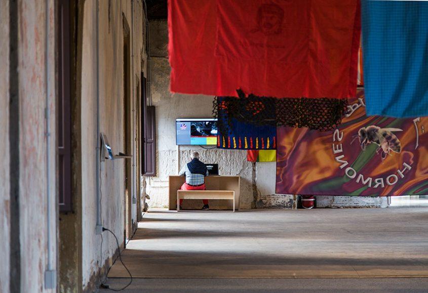 Fabian Fröhlich, Palermo, Manifesta 12, Palazzo Ajutamicristo (Filippo Minelli, Across the Border)