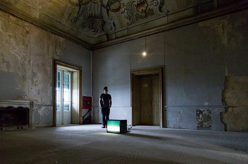 Fabian Fröhlich, Palermo, Manifesta 12, Palazzo Butera (Renato Leotta, Giardino)