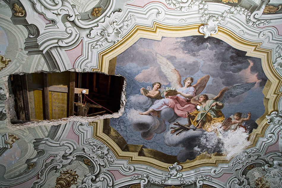 Fabian Fröhlich, Palermo, Manifesta 12, Palazzo Butera