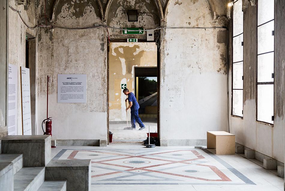 Fabian Fröhlich, Palermo, Manifesta 12, Palazzo Forcella De Seta