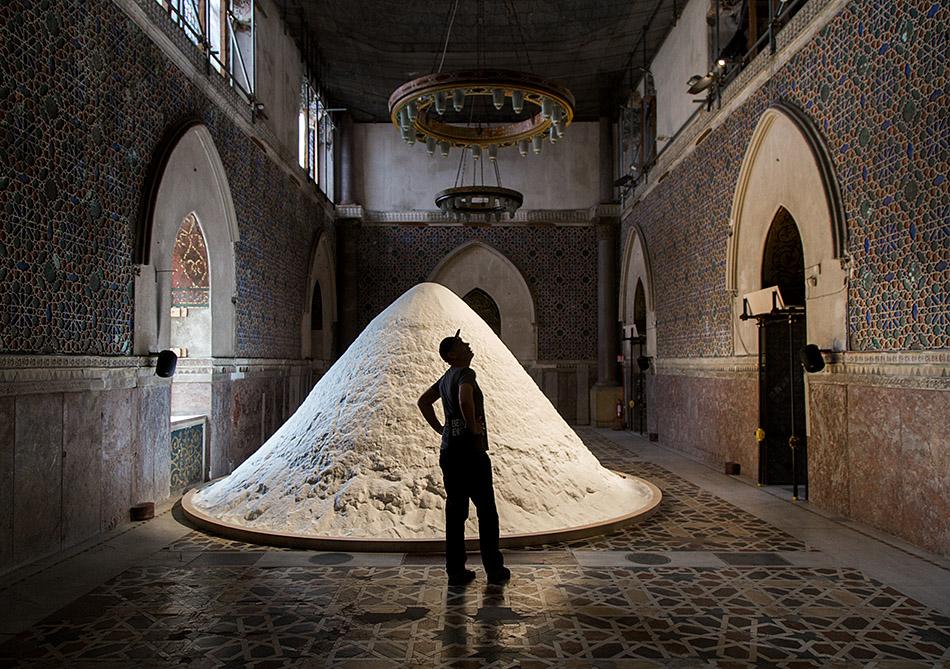 Fabian Fröhlich, Palermo, Manifesta 12, Palazzo Forcella De Seta (Patricia Kaersenhout, The Soul of Salt)