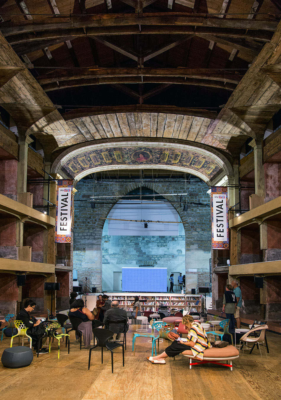 Fabian Fröhlich, Palermo, Manifesta 12, Teatro Garibaldi