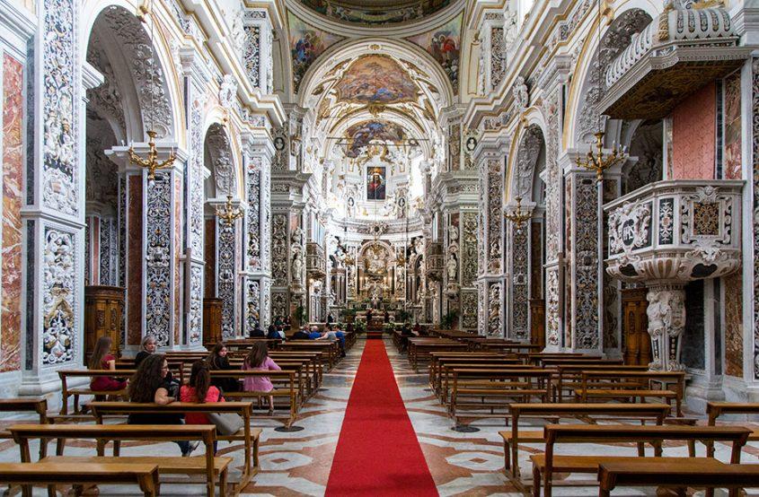 Fabian Fröhlich, Palermo, Chiesa del Gesù
