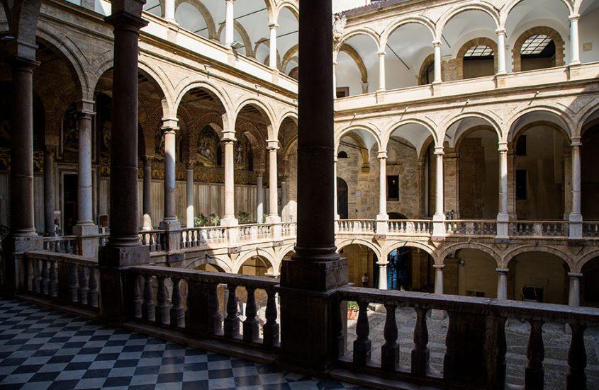 Fabian Fröhlich, Palermo, Palazzo degli Normanni