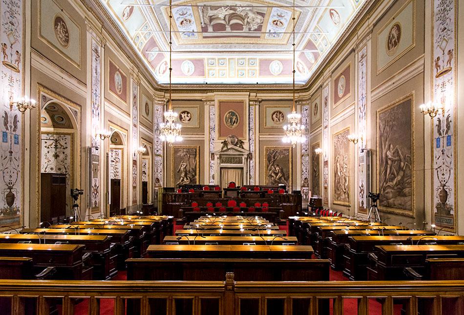 Fabian Fröhlich, Palermo, Palazzo degli Normanni, Sala di Ercole