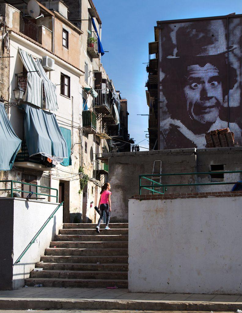 Fabian Fröhlich, Palermo, Piazza Baronio Manfredi