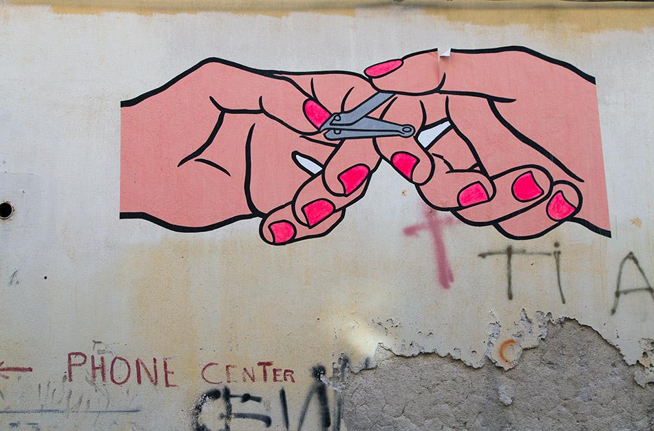 Fabian Fröhlich, Palermo, Via Giovanni Naso Streetart