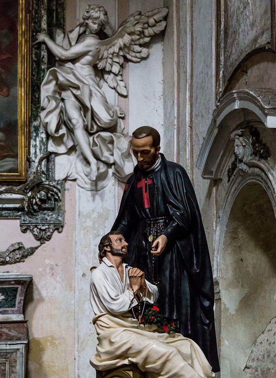 Fabian Fröhlich, Palermo, Santa Ninfa dei Crociferi