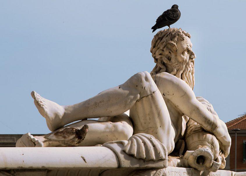 Fabian Fröhlich, Messina, Fontana di Orione
