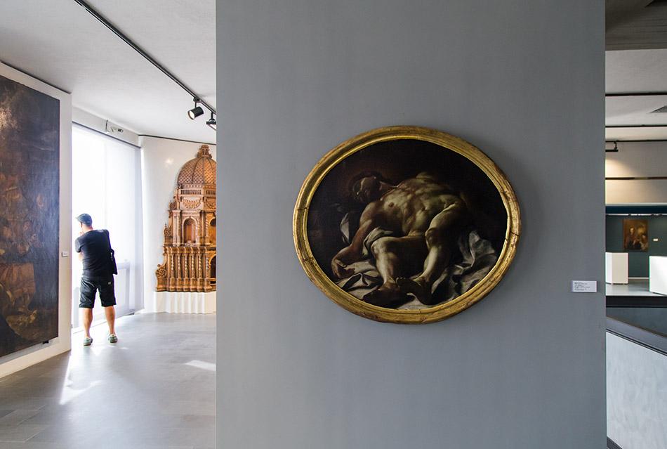 Fabian Fröhlich, Museo Regionale di Messina; Mattia Preti, Cristo morto