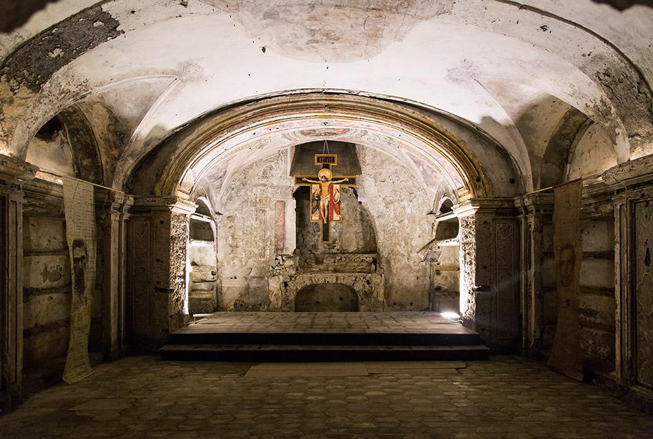 Fabian Fröhlich, Palermo, Chiesa Madonna dell'Itria dei Cocchieri, crypta