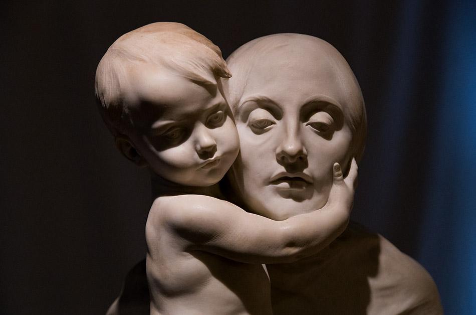 Fabian Fröhlich, Palermo, Galleria d'Arte Moderna; Ettore Xomenes, Ecce mater