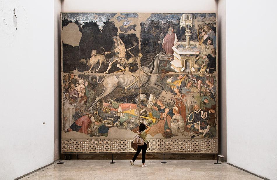 Fabian Fröhlich, Palermo, Galleria Regionale di Sicilia; Il Trionfo della Morte