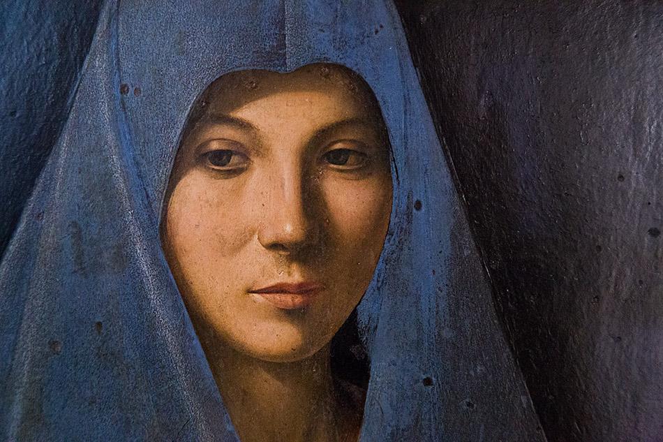 Fabian Fröhlich, Palermo, Galleria Regionale di Sicilia; Antonello da Messina, Annuciata di Palermo