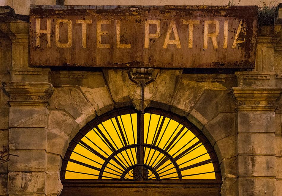 Fabian Fröhlich, Palermo, Hotel Patria
