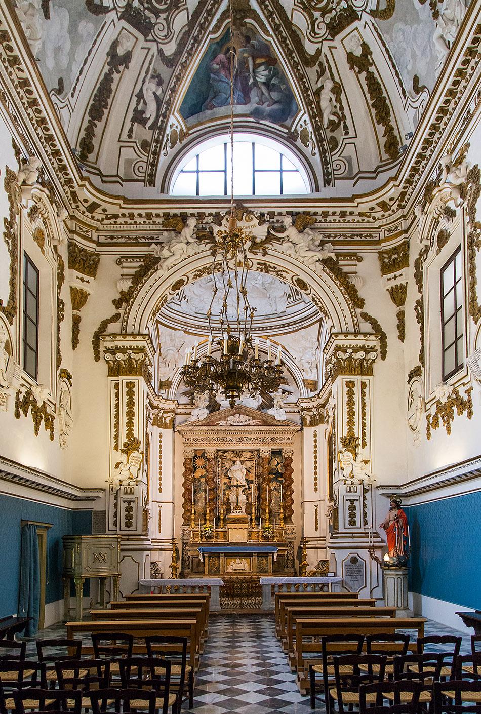 Fabian Fröhlich, Palermo, Oratorio dell'Immacolatella