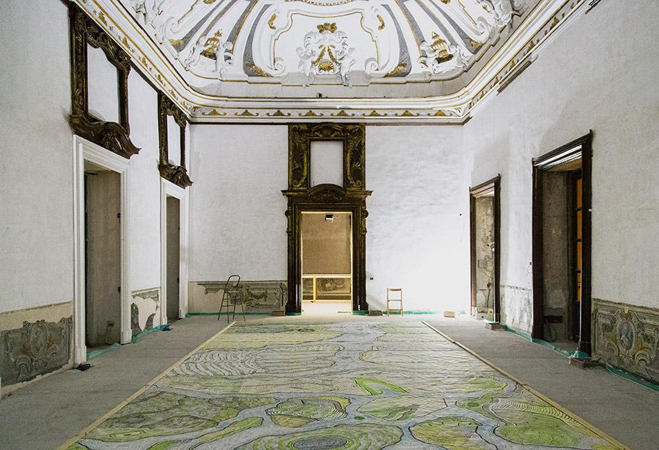 Fabian Fröhlich, Palermo, Palazzo Oneto di Sperlinga