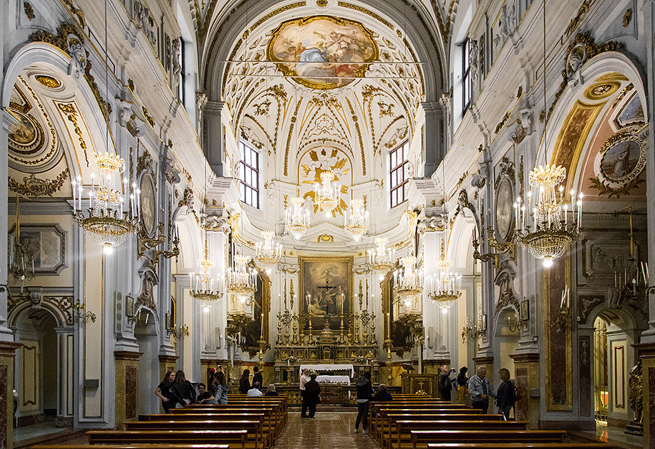 Fabian Fröhlich, Palermo, Chiesa di Sant'Orsola dei Negri