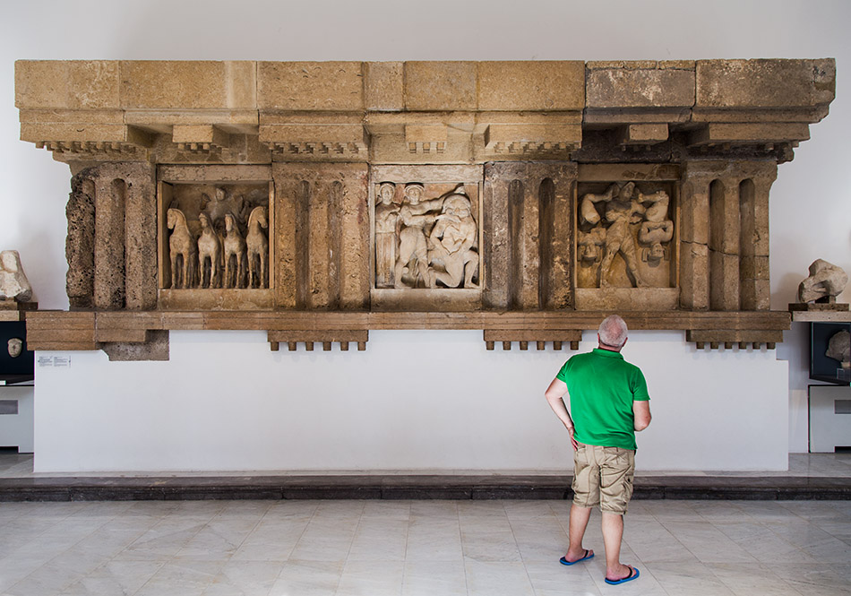 Fabian Fröhlich, Palermo, Museo archeologico regionale di Palermo, Metopes of Selinus