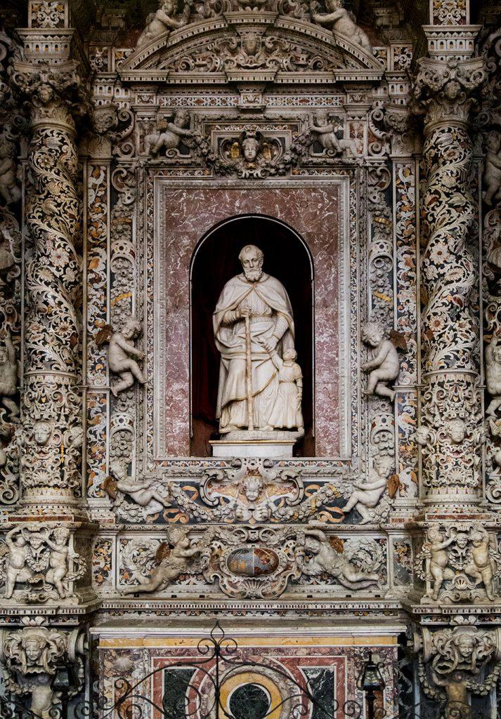 Fabian Fröhlich, Palermo, Chiesa di San Domenico, Capella di san Giuseppe