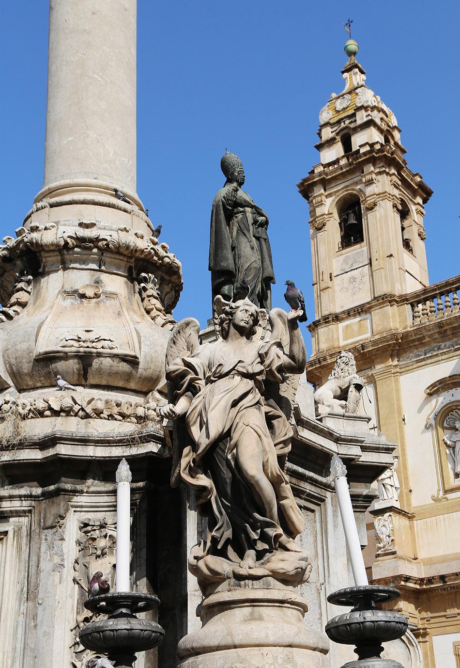 Fabian Fröhlich, Palermo, Piazza San Domenico
