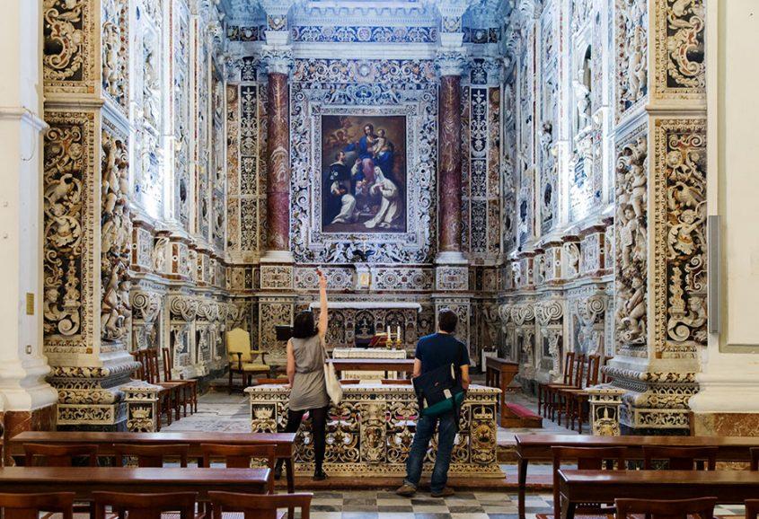 Fabian Fröhlich, Palermo, Chiesa di San Mamiliano, Capella del Rosario