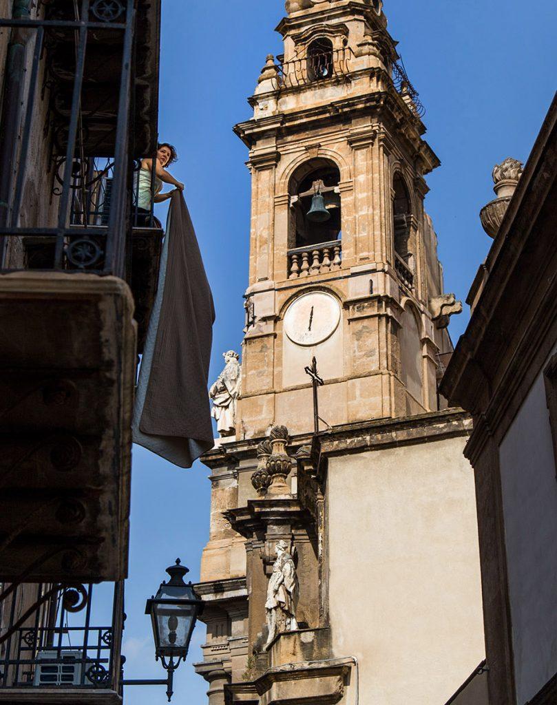 Fabian Fröhlich, Palermo, Sant'Ignazio all'Olivella