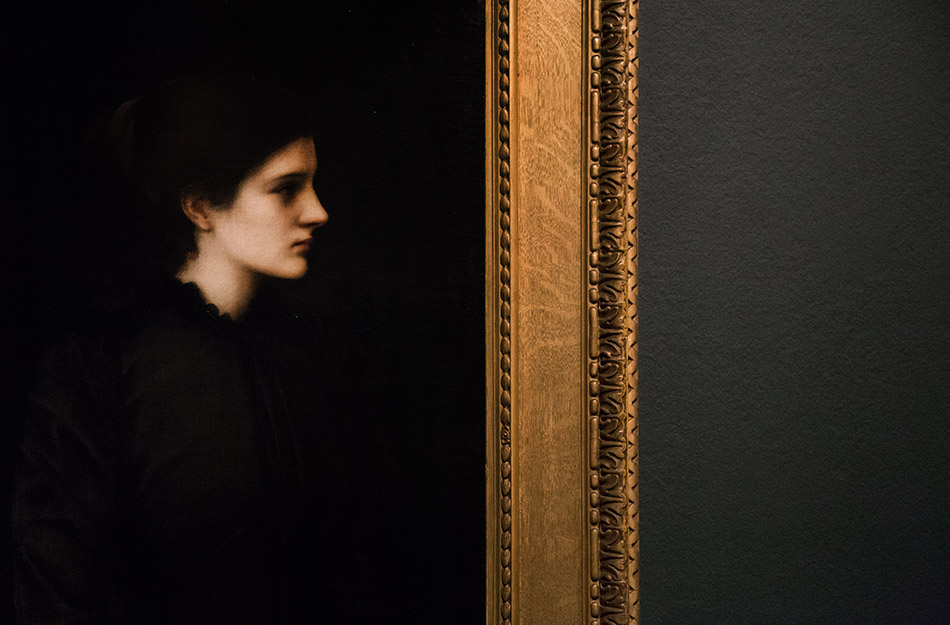 Fabian Fröhlich, Edward Burne-Jones exhibition, Tate Britain, Portrait of Amy Gaskell