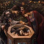 Fabian Fröhlich, Edward Burne-Jones exhibition, Tate Britain, The Baleful Head